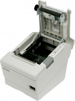 Tiskárna EPSON TM-T88V, řezačka, USB + serial (RS-232), bílá  - 4