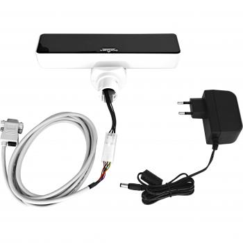 VFD zákaznický displej Virtuos FV-2030W 2x20 9mm, serial, bílý  - 4