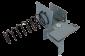 Držák elektromagnetu pro pokladní zásuvky C420/C430 - 4/4