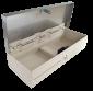 Pokladní zásuvka flip-top FT-460V3 - bez kabelu, se zam. krytem, NEREZ víko, bílá - 4/6