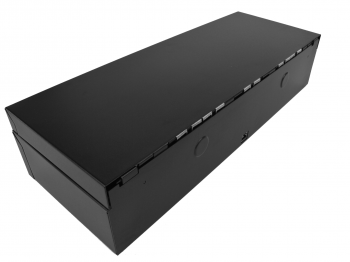 Flip-top FT-460C - s kabelem, se zamykacím krytem, černá  - 4