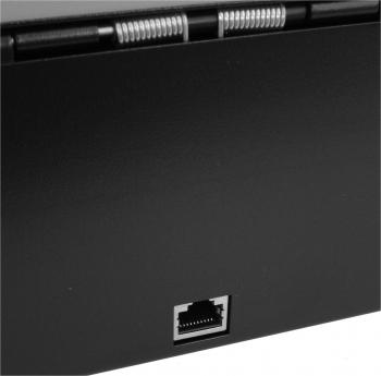 Flip-top FT-460C1 - s kabelem, bez zamykacího krytu, černá  - 4
