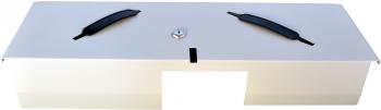 Flip-top FT-460C4 - s kabelem, se zamykacím krytem, bílá  - 4
