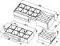 Kovový pořadač s výměnnými mincovníky 6/8 pro FT-460xx, SK-500 - 4/4