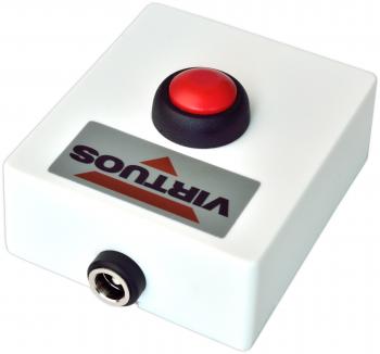 Tlačítko pro otvírání pokladních zásuvek, plastové bez kabelu  - 4