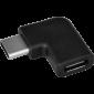 Redukce PremiumCord USB 3.1 C/male - C/female zahnutý konektor 90° - 4/4