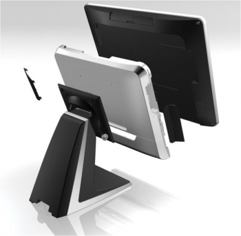 AerPOS PP-9645BV, 4GB, 120GB SSD, Win 10 IoT, bez rámečku, černý  - 4