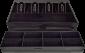 Pokladní zásuvka S-410, 4B/8C, 24V, matná černá - 4/5
