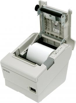 Tiskárna EPSON TM-T88V, řezačka, USB + serial (RS-232), bílá  - 5