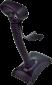 Laserová čtečka Virtuos HT-900A, USB, stojánek, černá - 5/5