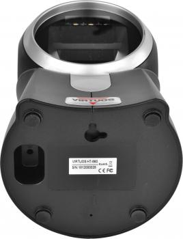 CCD 2D čtečka Virtuos HT-860, stacionární, USB, černá  - 5