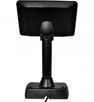 """7"""" LCD barevný zákaznický displej Virtuos SD700F, USB, černý  - 5"""