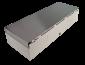 Pokladní zásuvka flip-top FT-460V3 - bez kabelu, se zam. krytem, NEREZ víko, bílá - 5/6