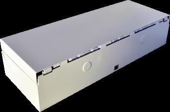 Pokladní zásuvka flip-top FT-460V4 - bez kabelu, se zam. krytem, bílá  - 5