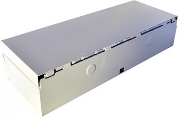 Flip-top FT-460C4 - s kabelem, se zamykacím krytem, bílá  - 5