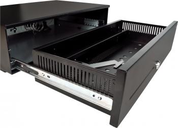Pokladní zásuvka SK-500C - s kabelem, pořadač 6/8, 9-24V, černá  - 5