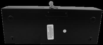 Pokladní zásuvka flip-top FT-460V-RJ10P10C, bez kabelu, se zam. krytem, černá  - 5