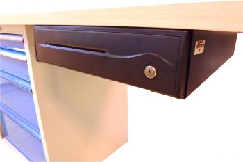 Držáky pro zavěšení pokladní zásuvky C420/C425/C430/S-410, černé  - 5
