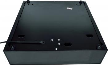 Pokladní zásuvka S-410, 4B/8C, 24V, matná černá  - 5
