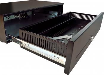 Pokladní zásuvka SK-500-RJ10P10C, bez kabelu, pořadač 6/8, černá  - 5