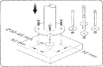 Virtuos Pole - Základní stojan 500 mm  - 6