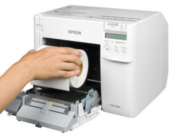 Tiskárna Epson ColorWorks C3500, tiskárna barevných etiket a vstupenek  - 6