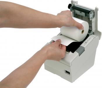 Tiskárna EPSON TM-T88V, řezačka, USB + serial (RS-232), bílá  - 6