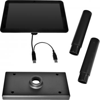 """10,1"""" LCD barevný zákaznický monitor Virtuos SD1010R, USB, černý  - 5"""