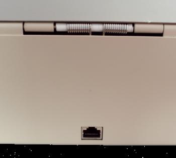 Pokladní zásuvka flip-top FT-460V3 - bez kabelu, se zam. krytem, NEREZ víko, bílá  - 6