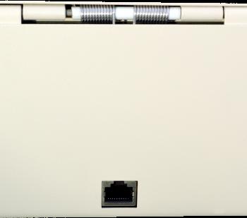 Pokladní zásuvka flip-top FT-460V4 - bez kabelu, se zam. krytem, bílá  - 6