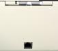 Pokladní zásuvka flip-top FT-460V4 - bez kabelu, se zam. krytem, bílá - 6/6