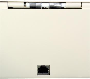 Flip-top FT-460C4 - s kabelem, se zamykacím krytem, bílá  - 6