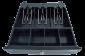 Pokladní zásuvka mikro EK-300C s kabelem, pořadač 3/4, 9-24V, černá - 6/7