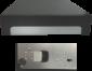 Pokladní zásuvka C425 - bez kabelu, kovové držáky, 5-9V, černá - 6/7