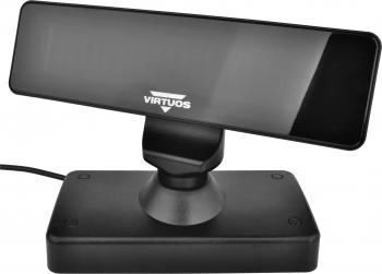 VFD zákaznic. displej Virtuos FV-2030B 2x20 9mm, serial, černý  - 6