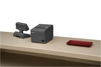 Tiskárna EPSON TM-T20II, řezačka, USB + serial (RS-232), tmavá, BAZAR  - 6