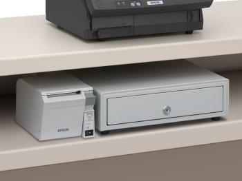 Tiskárna EPSON TM-T70II, USB + serial (RS-232), světle šedá  - 7