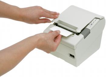 Tiskárna EPSON TM-T88V, řezačka, USB + serial (RS-232), bílá  - 7