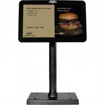 """10,1"""" LCD barevný zákaznický monitor Virtuos SD1010R, USB, černý  - 6"""