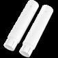 LCD zákaznický displej Virtuos FL-2025MB 2x20, USB, bílý - 7/7