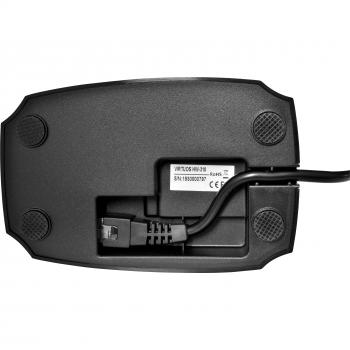 CCD čtečka Virtuos HW-310A, bezdrátová, základna, černá  - 7