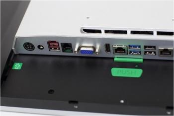 AerPOS PP-9645BV, 4GB, 120GB SSD, Win 10 IoT, bez rámečku, černý  - 7