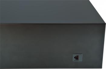 Pokladní zásuvka SK-500B bez kabelu, kov. pořadač 8/8, 9-24V, černá  - 7