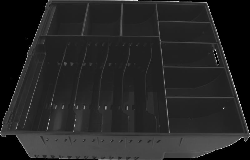 SK-500, bez kab, pořadač 6/8, 9-24V, čer Základní parametry •Konstrukčně podobné Flip top zásuvkám, zde s předním otvíráním.